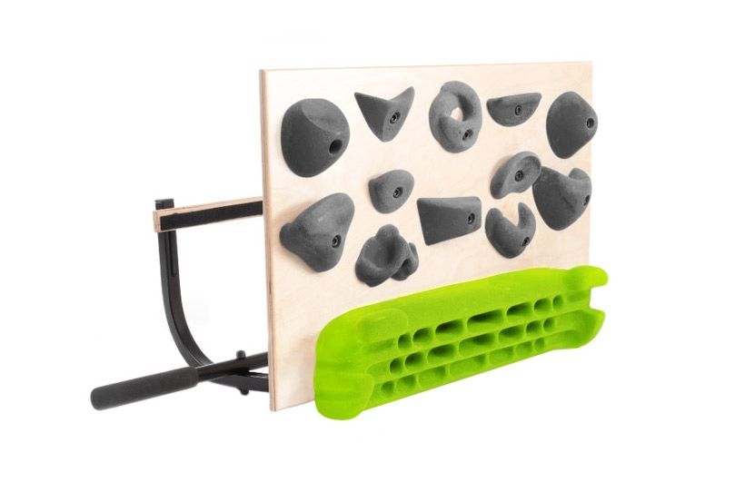 Develop serious grip and finger strength with the Blank Slate Climbing Gear