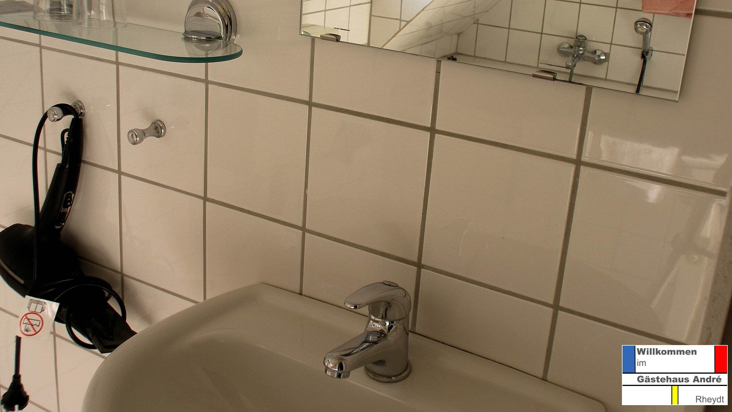Blick In Ein Badezimmer Gast Badezimmer Haus