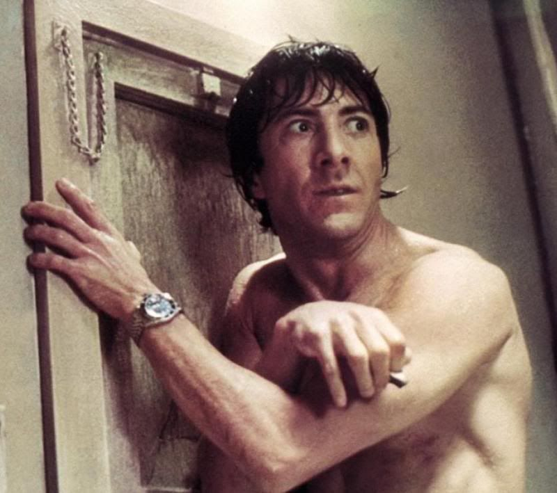 Rolex - Dustin Hoffman wore a 1675 in the Marathon Man...