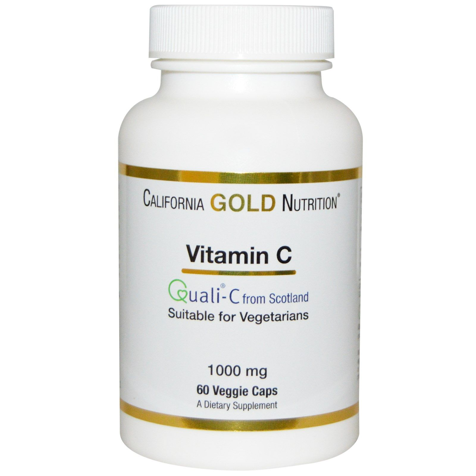 California Gold Nutrition, Gold C, Vitamin C, 1,000 mg, 60