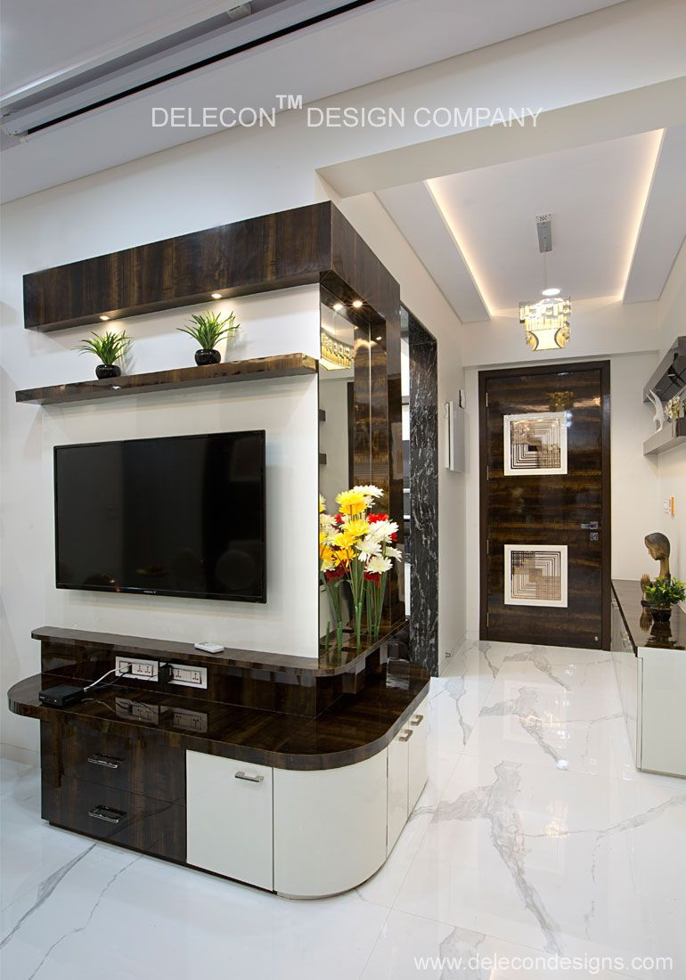 Lcd Panel Design Interior: Pin By Kannan V On Tv Showcase