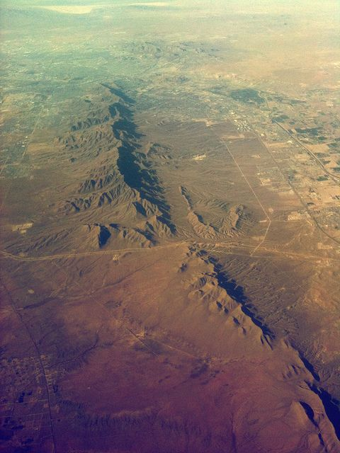 New Mexico from above...earth