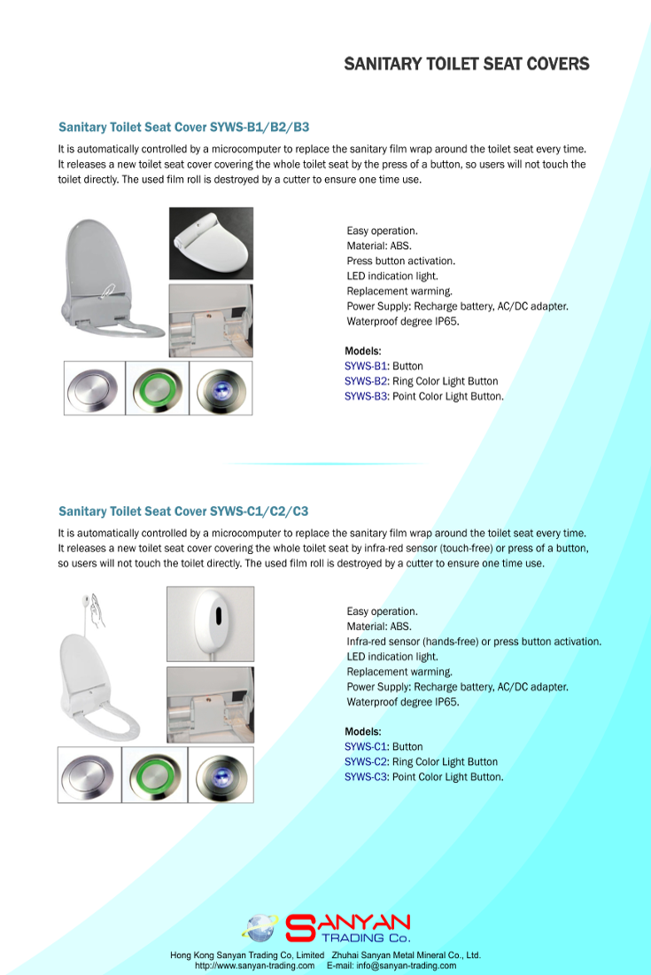 Sanitary Toilet Seat Cover Presentation Page No 3