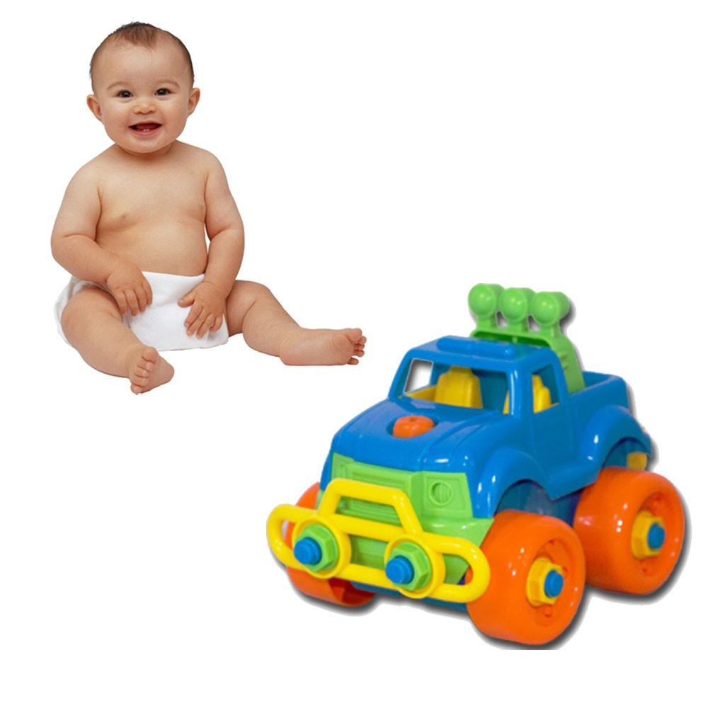 Car toys for toddlers  Baby Child Boy Disassembly Assembly Classic car machines Toys for