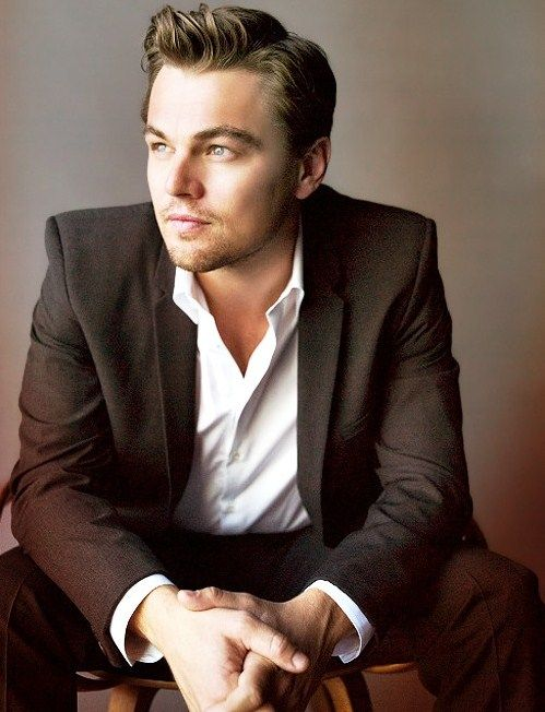 Leonardo DiCaprio. Oh, I've celeb crushed on this man since Growing Pains.