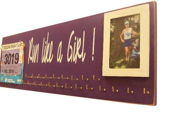 running medals holder  running medals holder by runningonthewall, $44.00