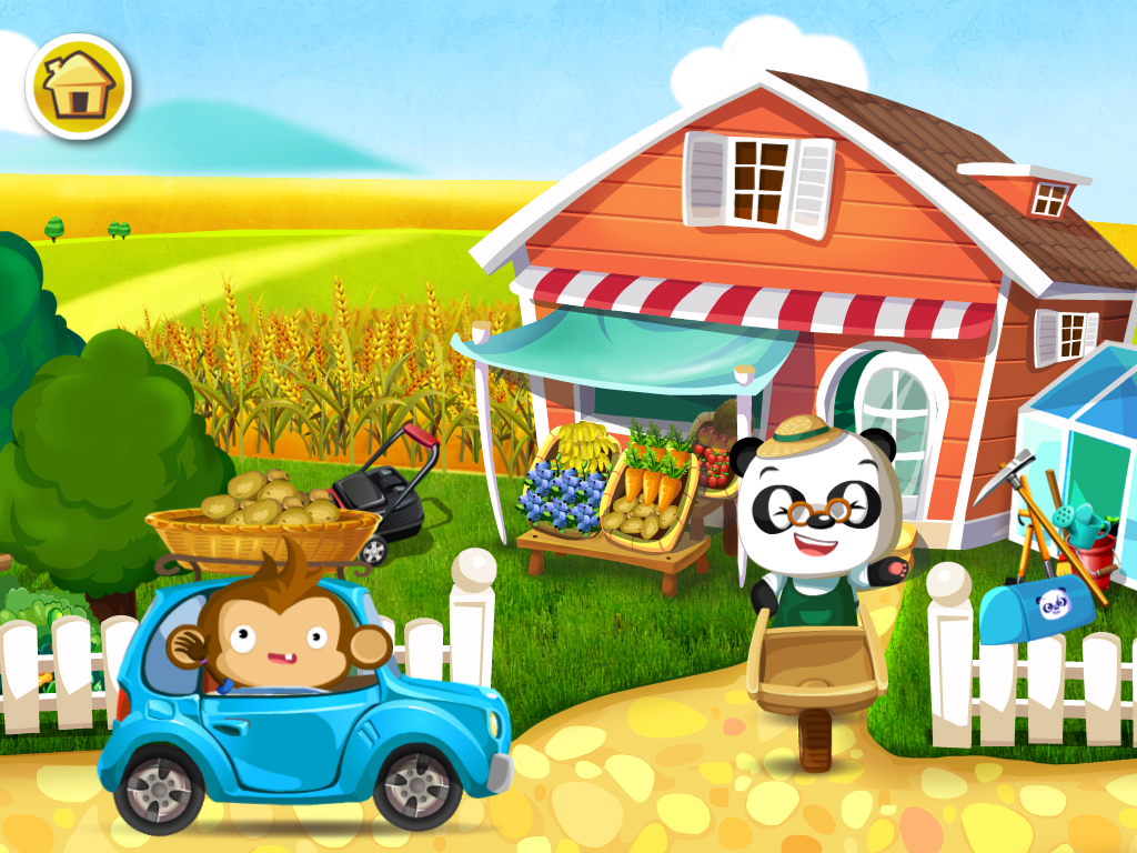 Dr Panda S Veggie Garden The Take Away This App Is A Great