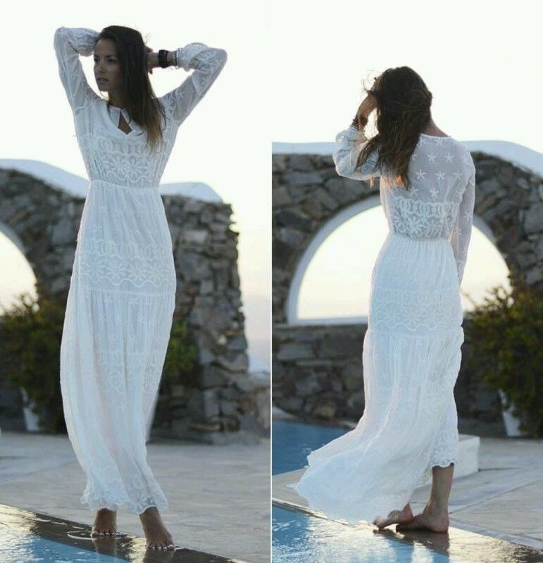 23bf292aa6 ZARA OFF WHITE IVORY LACE FLORAL EMBROIDERED BOHO LONG MAXI DRESS SMALL NWT  #ZARATRF #BohoHippie #Casual