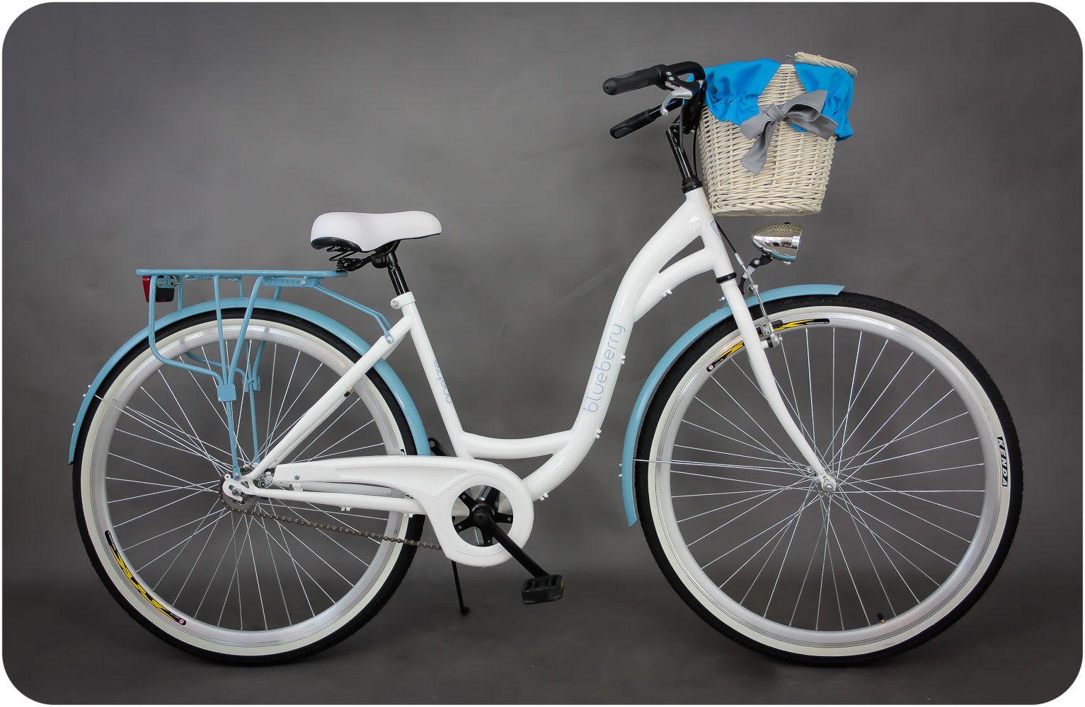 Damski Rower Miejski Goetze Blueberry 28 Kosz Fahrrad