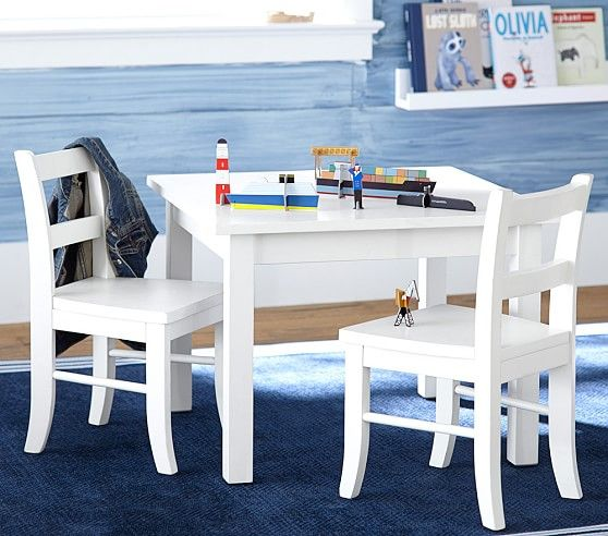 Strange My First Table Set Of 2 Chairs Pottery Barn Kids Spiritservingveterans Wood Chair Design Ideas Spiritservingveteransorg