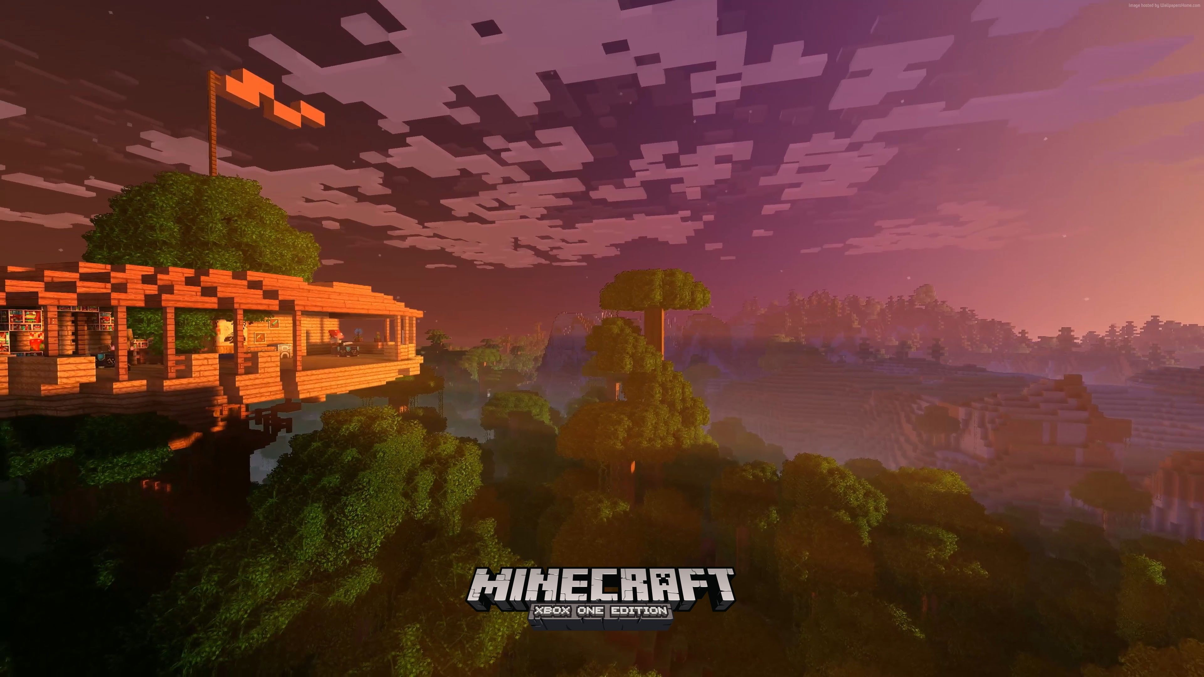 Minecraft 4k Edition Screenshot Xbox One X E3 2017 4k Wallpaper