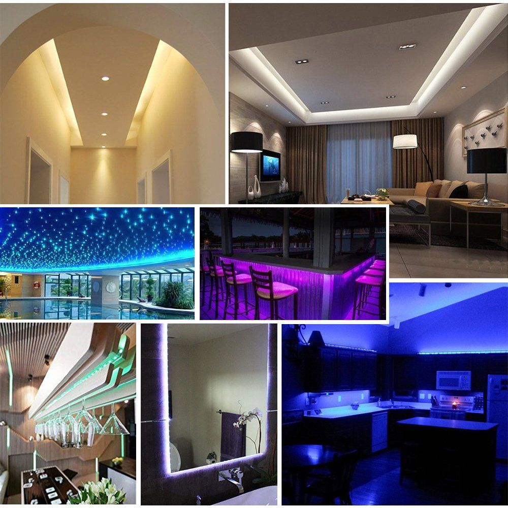 Enjoy Smart Life Helps Connecting Your Led Light Strips To Wifi Network With Magic Home Pro App Control Led Strip Lighting Strip Lighting Led Tape Lighting