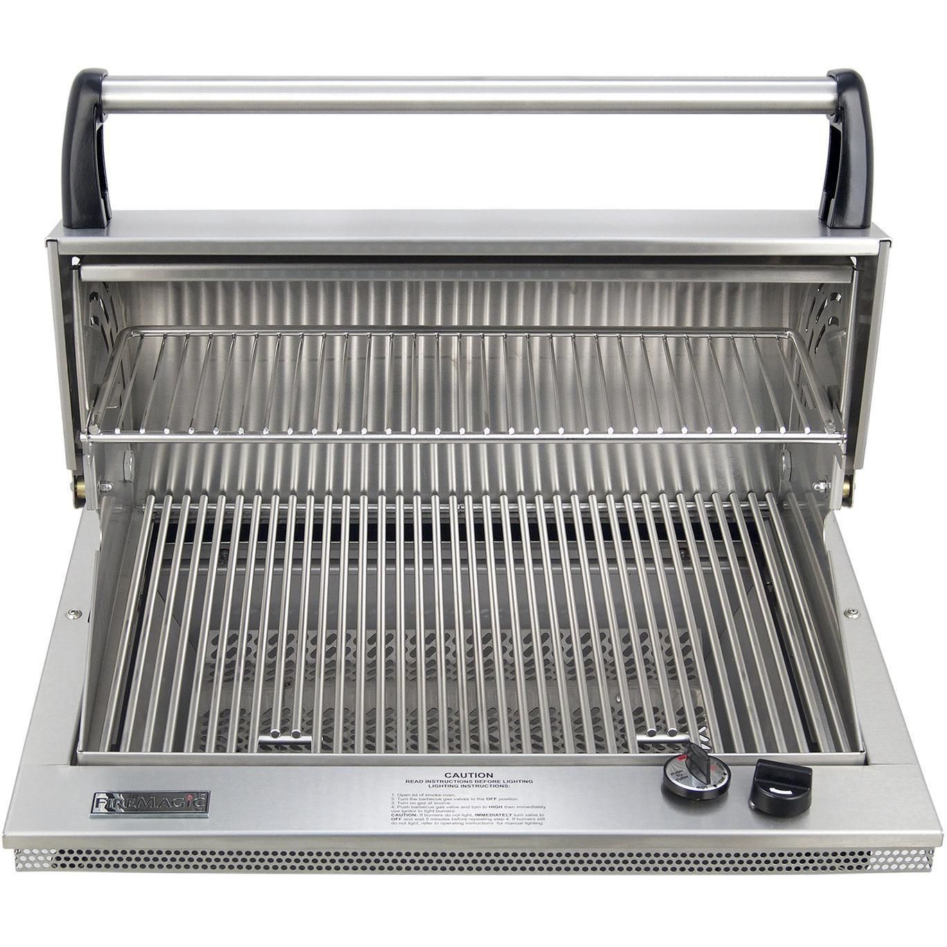 Fire Magic Legacy Deluxe Classic Countertop Natural Gas Grill 31