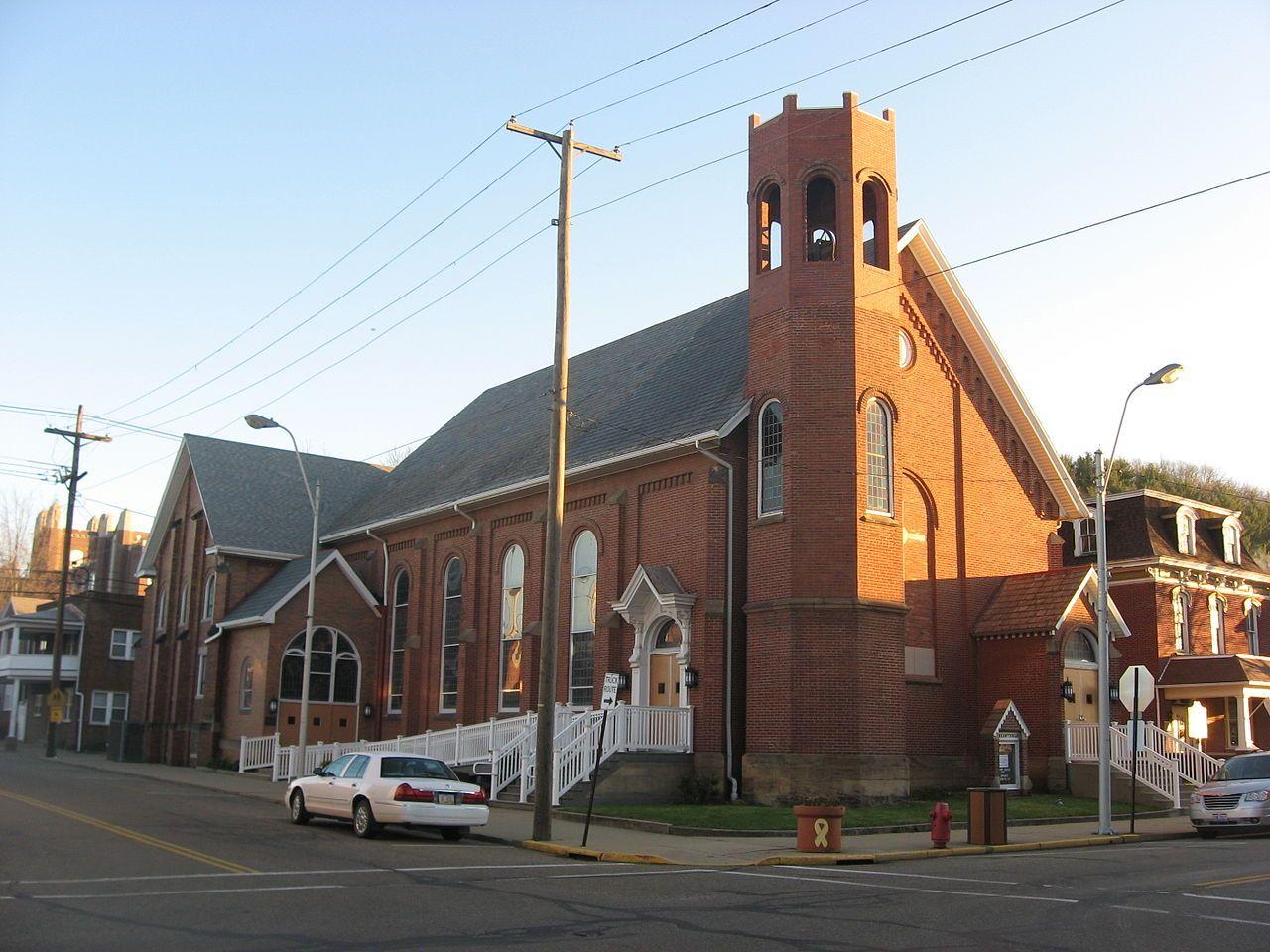 The Railway Chapel in Tuscarawas County, Ohio. National