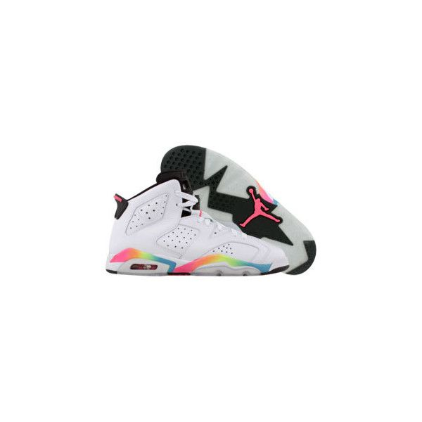 los angeles 6169b d6ae7 ... air jordan 6 retro (white pink flash volt mrn blue) shoes (100)