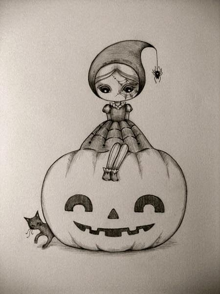 Ashton Wood On Instagram Creating Quick Little Halloween Doodles