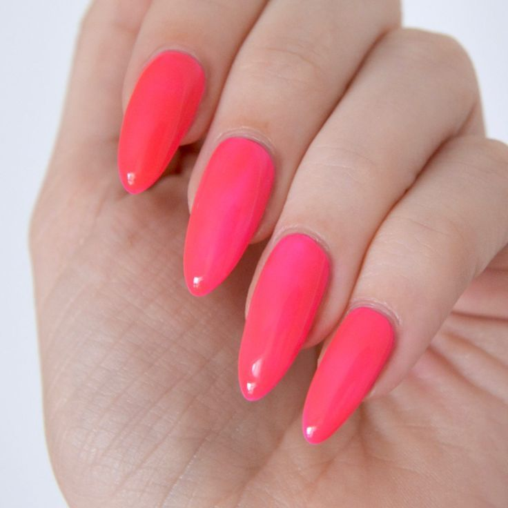 Essie Neon 2017 Review With Swatches | Neon pink nail polish, Neon ...