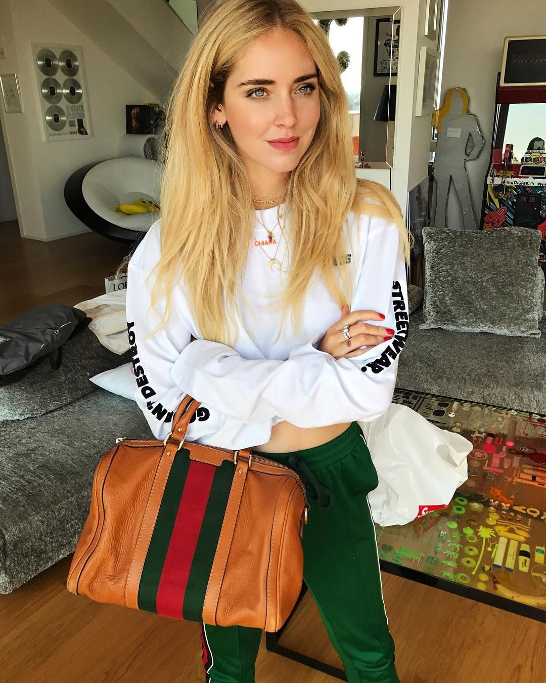0a908c9028f Gucci vintage find on  depop (and you can buy directly from my wardrobe   chiaraferragni)  ad  depop  ItalianDays