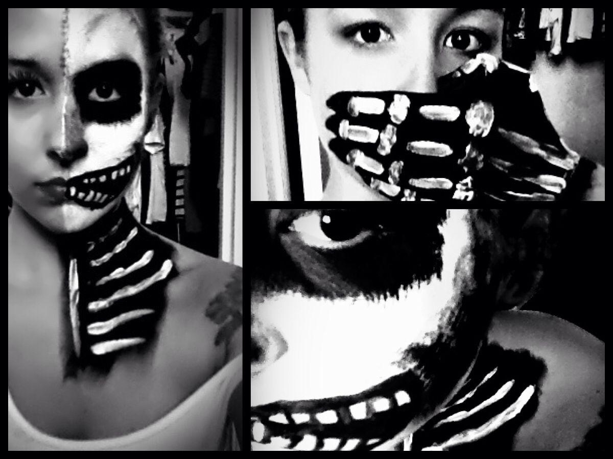 halloween sephoraselfie Halloween face, Halloween face