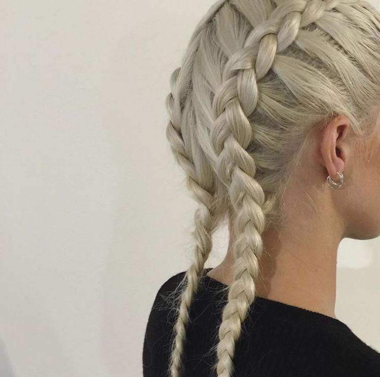 фото коса внешняя этом варианте