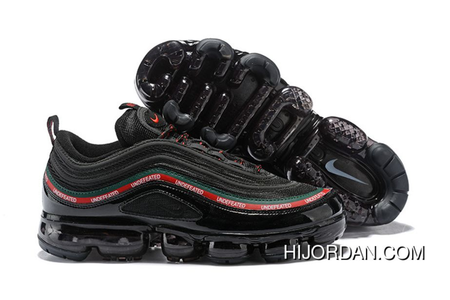 nike air max 97 x undefeated nero gorge green