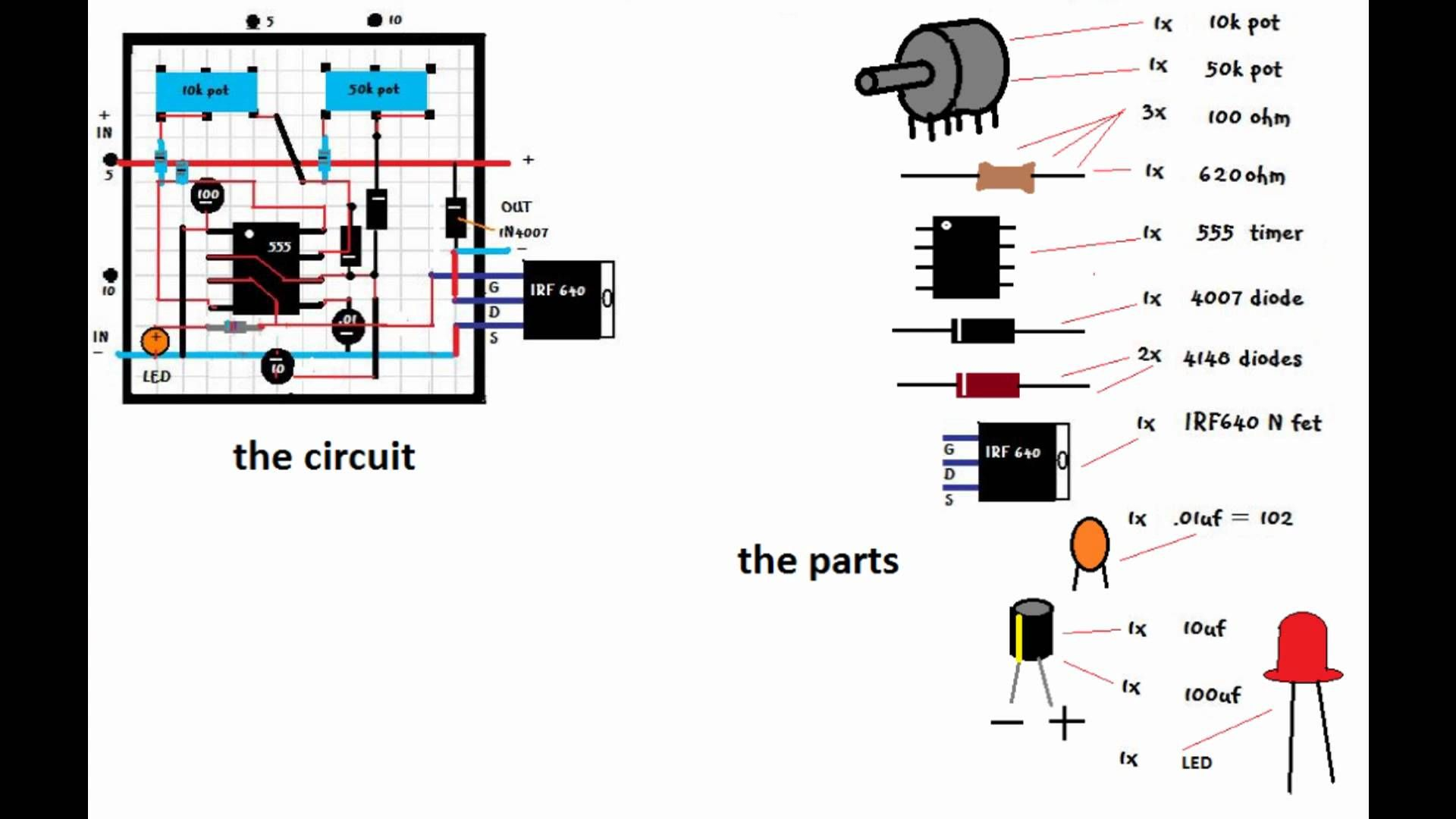 efie and pwm wiring diagram for hho systems 2006 kia optima engine how to make a buck converter circuit free energy