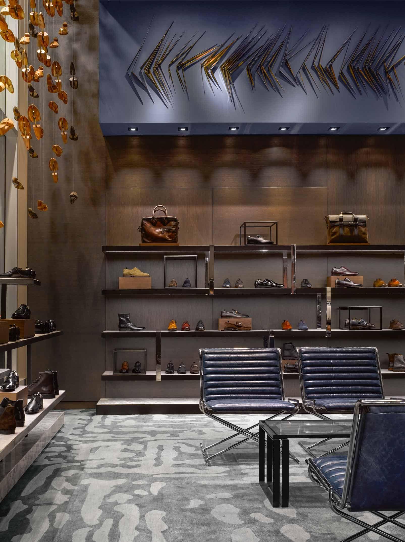Holt renfrew 100 bloor mens store janson goldstein commercial interior design commercial interiors