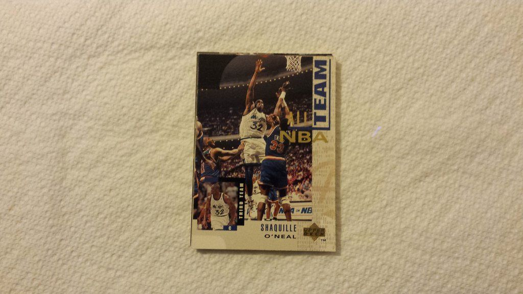 shaq rookie card price guide