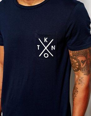 Enlarge ASOS T-Shirt With Printed Pocket