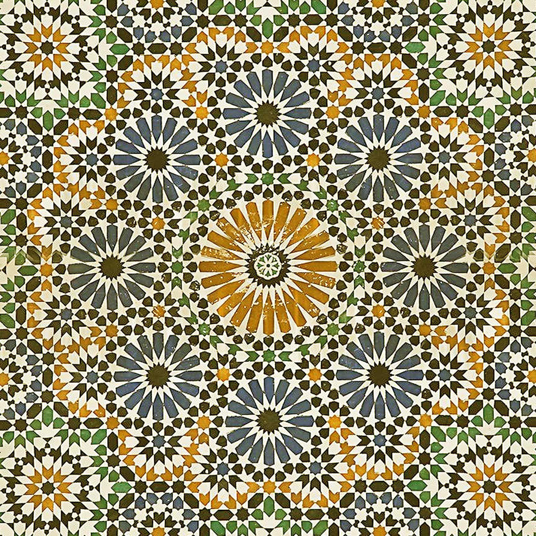 Morocco Mosaic Ceiling Tile | Azulejos imprimibles | Pinterest ...