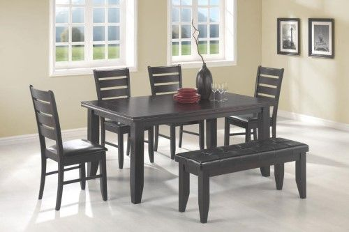 Coaster Fine Furniture Dining Table Cappuccino 102721 Comedores