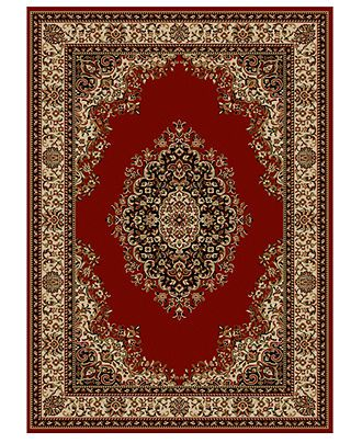 Roma Kerman Red 3 Pc Rug Set Rugs Area Rugs Colorful Rugs