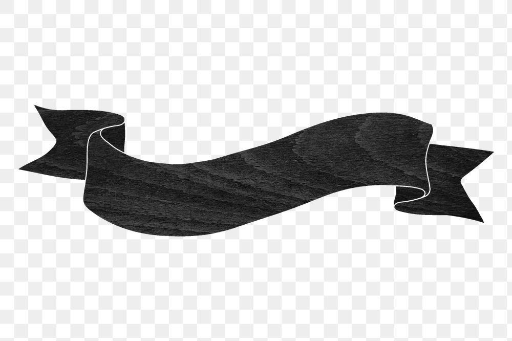 Black Wood Textured Ribbon Banner Design Element Free Image By Rawpixel Com Sasi Black Banner Ribbon Banner Banner Clip Art