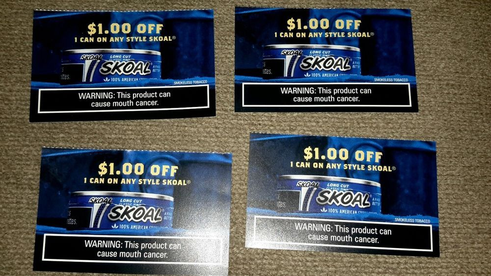 picture regarding Skoal Coupons Printable titled 4 Skoal discount coupons Expires 6/2/2017 For Sale Pop tarts