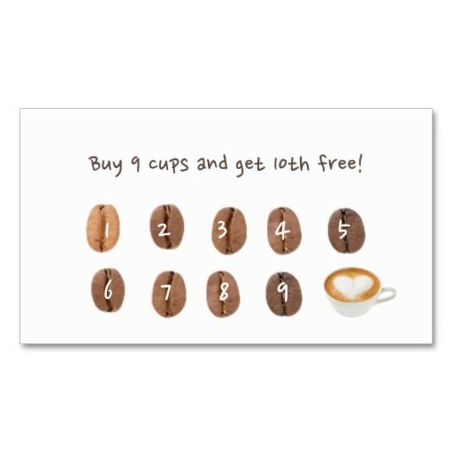 Coffee Shop Minimalist Loyalty Punch Zazzle Com Coffee Shop Business Card Loyalty Card Coffee Coffee Business