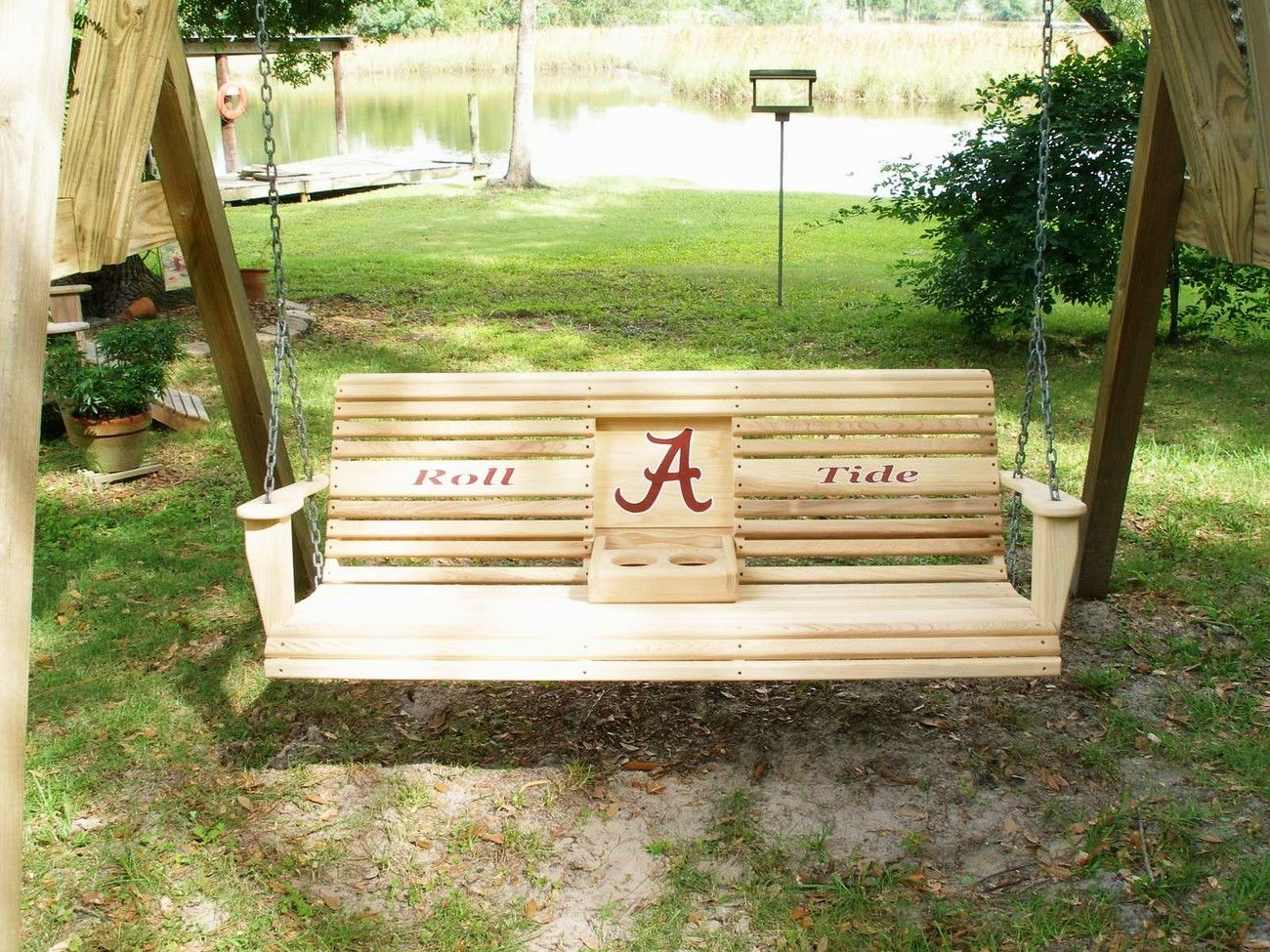 Porch Swings | Alabama Crimson Tide Porch Swing!   Swings