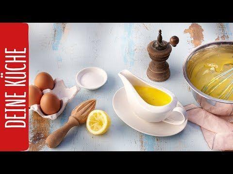 Klassische Sauce Hollandaise | REWE Deine Küche - YouTube ...