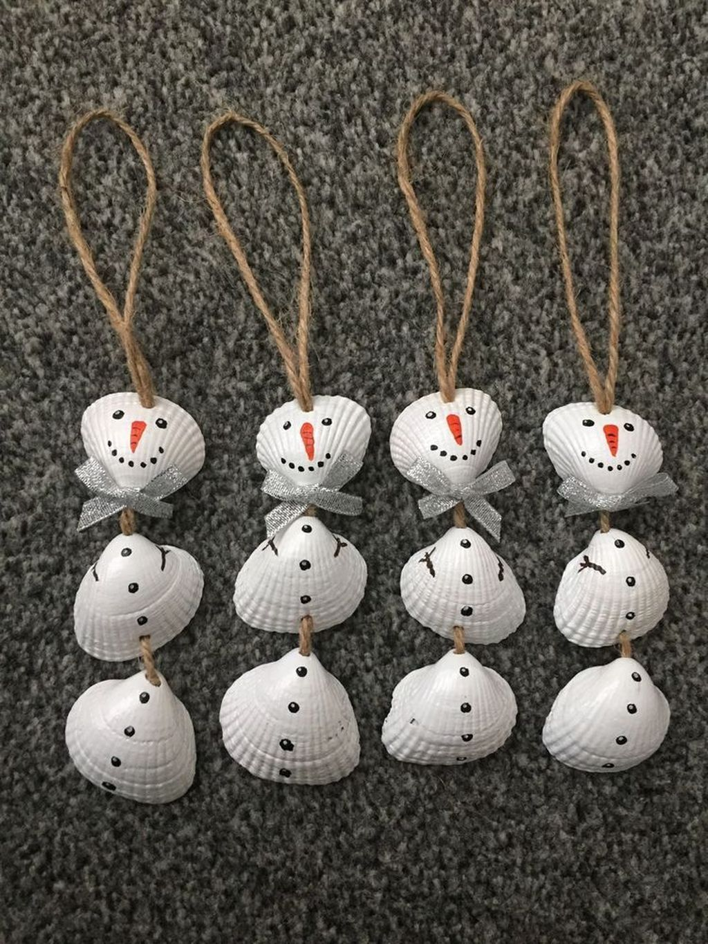 Beautiful Christmas Tree Ornaments Ideas You Must Have 17 is part of Shell crafts diy, Mason jar crafts diy, Seashell crafts, Painted christmas ornaments, Wine bottle diy crafts, Shell crafts - Beautiful Christmas Tree Ornaments Ideas You Must Have 17