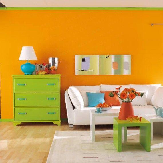 Taste The Rainbow 6 Ways to Color Block Your Home Wohnzimmer - feng shui farben wohnzimmer
