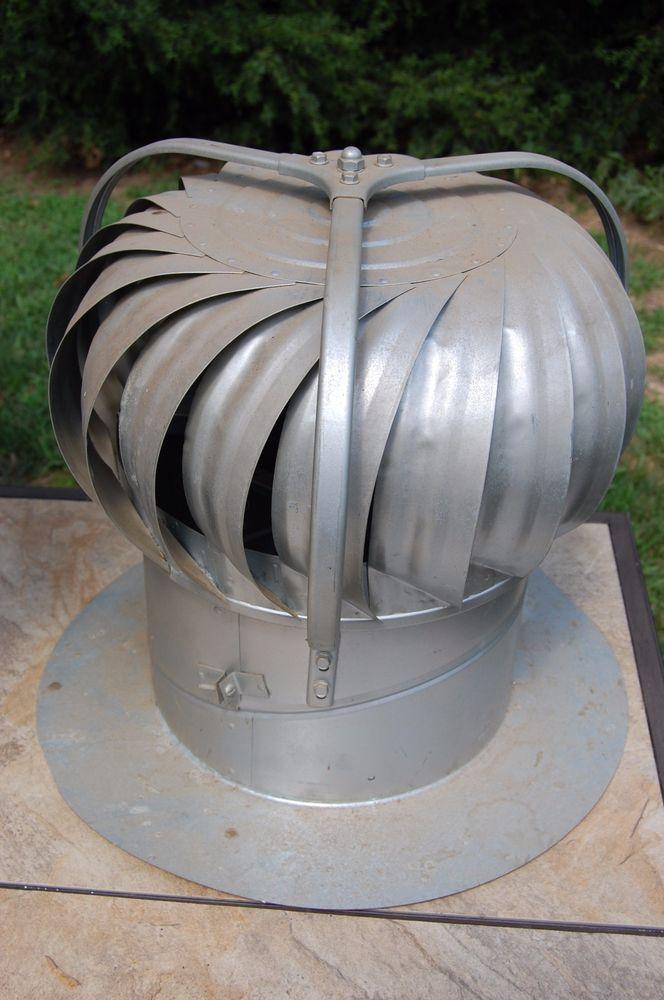 Vintage Wind Turbine Galvanized Metal Roof Spinning Barn Vent Arvin Usa Galvanized Metal Roof Metal Roof Sheet Metal Roofing