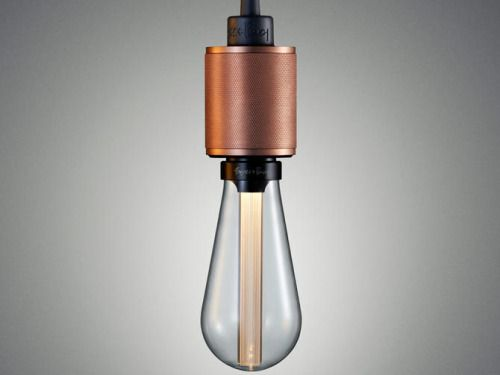 Heavy Metal/Rose Copper Buster LED bulb - Buster and Punch