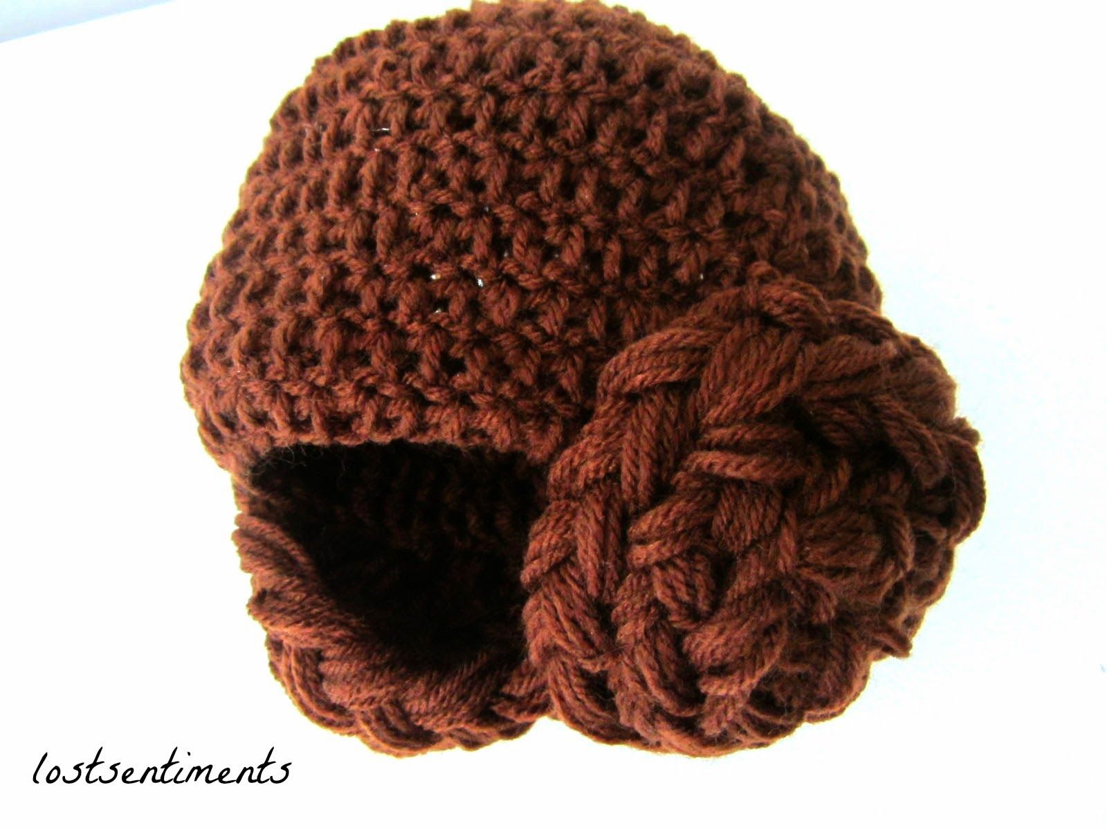 Princess Leia Crocheted Hat for 3 - 6 Month Old #starwars #FOTH ...