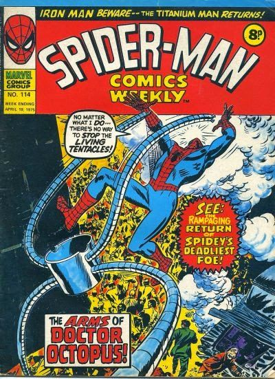 Spider-Man Comics Weekly #114, Dr Octopus
