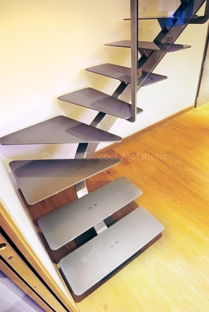 Escalier Quart Tournant In 2018 Escalier Acier Pinterest