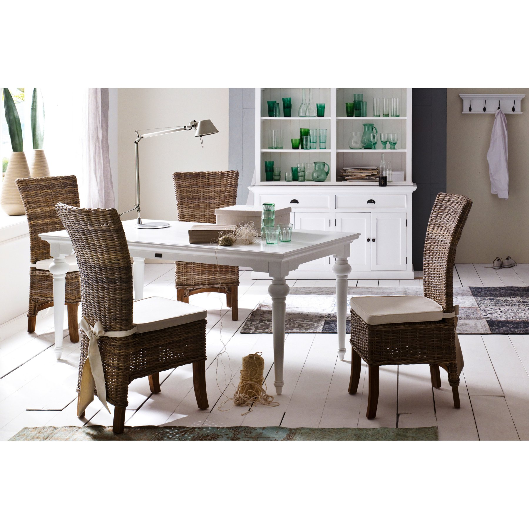 Provence By Infinita 71 In Rectangular Dining Table  814495017128