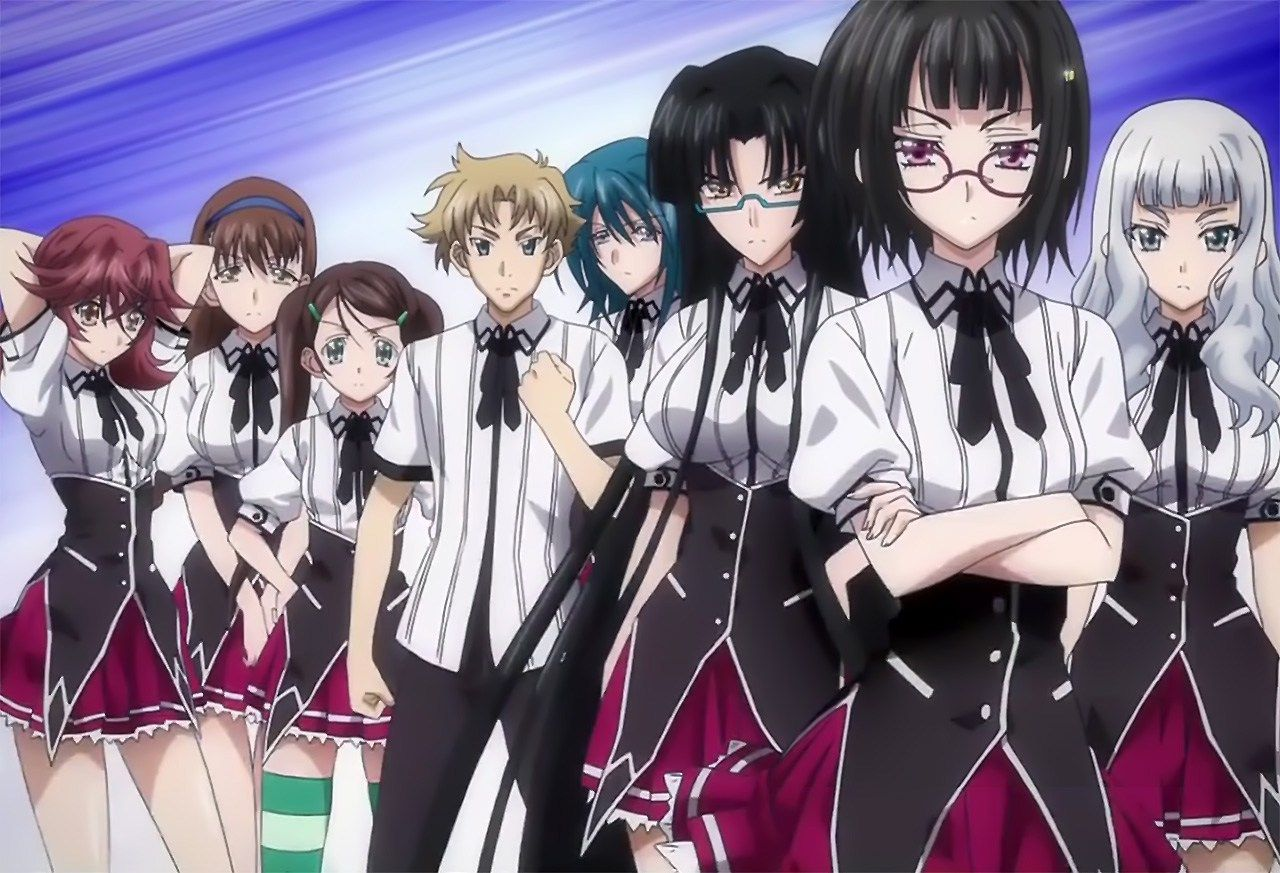 High School DxD Sona Sitri Clan Anime