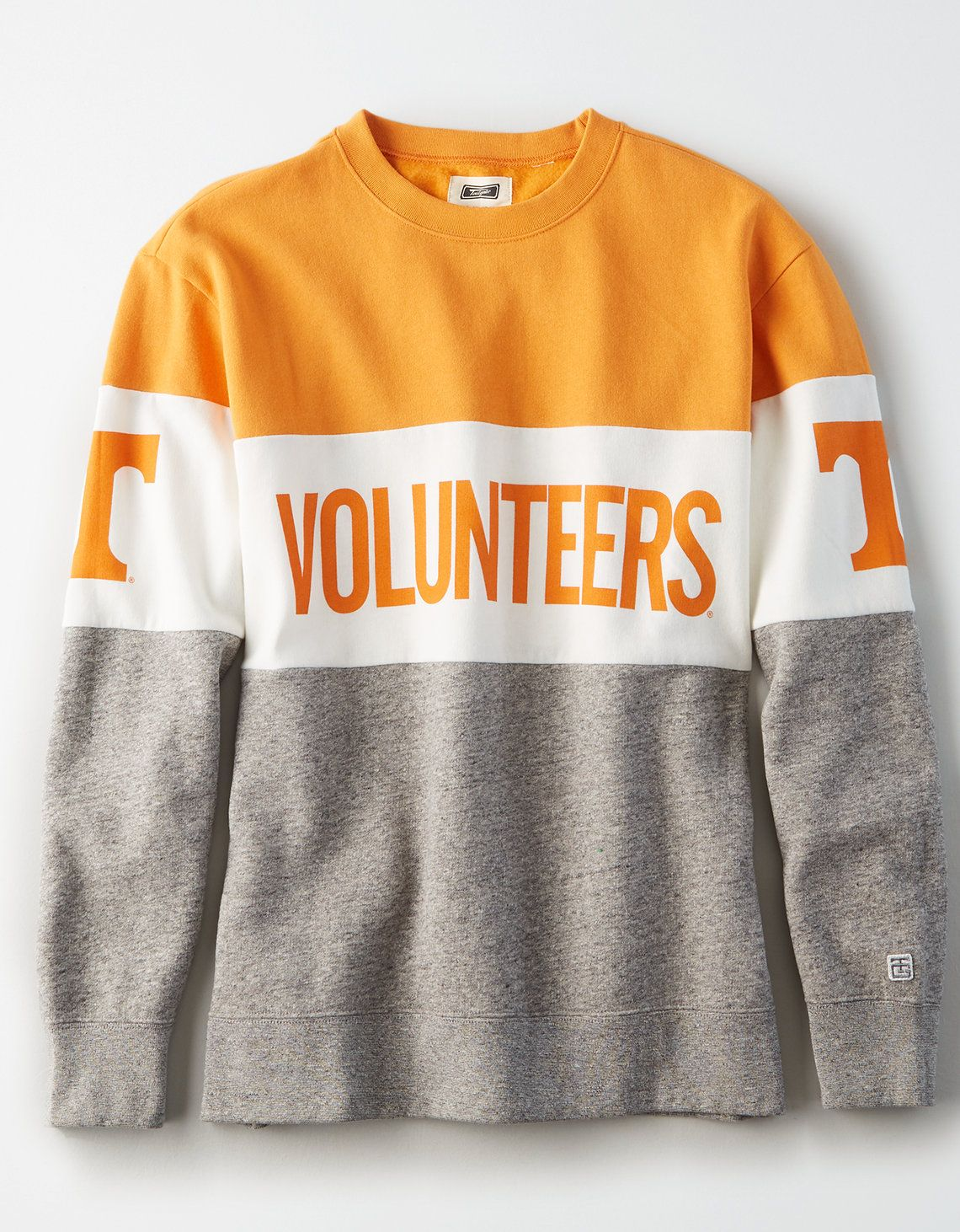 Tailgate Women S Tennessee Volunteers Colorblock Sweatshirt Color Block Sweatshirt Sweatshirts Tennessee Outfits [ 1462 x 1140 Pixel ]