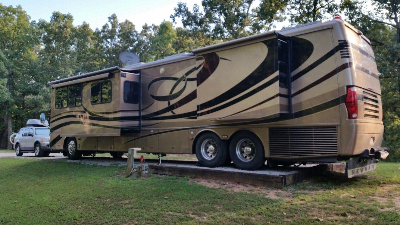 Cherokee landing campground recreational vehicles