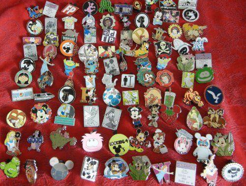 Lot of 200 Disney Trading Pin with Hidden Mickey Mixed