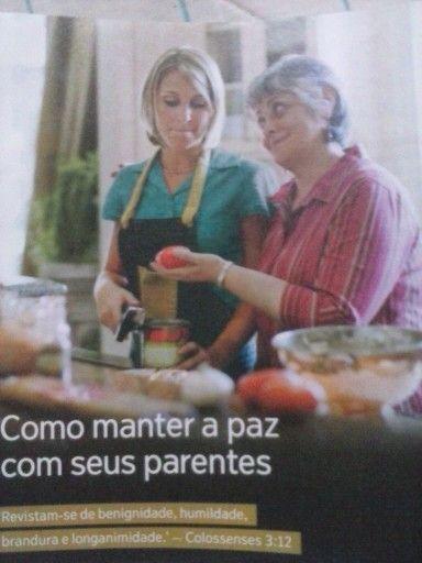 Ate mesmo com as sogras!